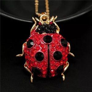 Beautiful ladybug 🐞 Betsey Johnson necklace
